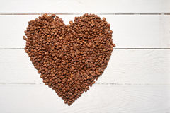 Concept d'amour de café Images stock