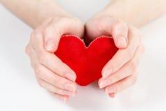 Concept d'amour de coeur, Saint Valentin de saint Photographie stock