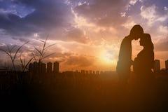 Concept d'amour de couples Images stock