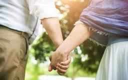 Concept d'amour de relaxation de datation d'unité de couples photo libre de droits