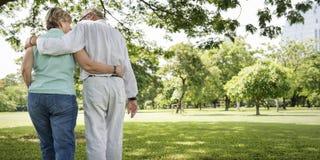 Concept d'amour de relaxation de datation de mari d'épouse de couples Image libre de droits