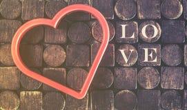 Concept d'amour Fond de jour de valentines Photos stock