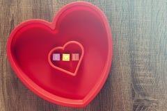 Concept d'amour Fond de jour de valentines Photographie stock libre de droits