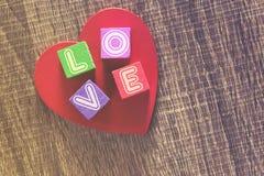 Concept d'amour Fond de jour de valentines Photo libre de droits