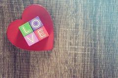 Concept d'amour Fond de jour de valentines Photos libres de droits