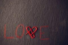 Concept d'amour pour des amants Images stock