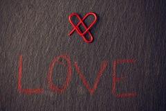 Concept d'amour pour des amants Photo libre de droits