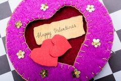 Concept d'amour pour la Saint-Valentin Image libre de droits