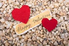 Concept d'amour pour la Saint-Valentin Images libres de droits