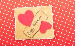 Concept d'amour pour la Saint-Valentin Photographie stock