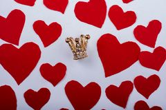 Concept d'amour pour la Saint-Valentin Photo stock