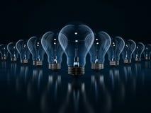 Concept d'ampoule Image stock