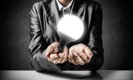 Concept d'ampoule comme symbole de nouvelle idée Photo libre de droits