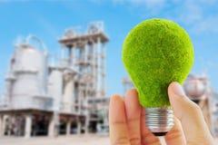 Concept d'ampoule d'Eco Photographie stock