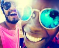 Concept d'amusement d'unité de vacances d'amitié d'amis Image stock
