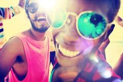 Concept d'amusement d'unité de vacances d'amitié d'amis Photo libre de droits