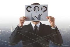 Concept d'analyse de marché boursier Image libre de droits