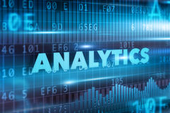 Concept d'Analytics Images libres de droits