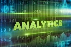 Concept d'Analytics Image libre de droits