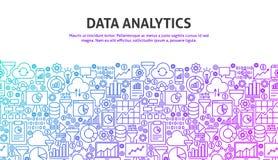 Concept d'analytics de données illustration libre de droits