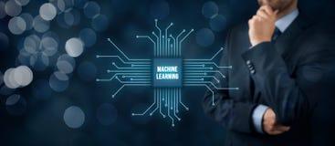 Concept d'apprentissage automatique photo libre de droits