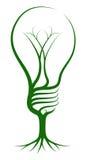 Concept d'arbre d'ampoule Photographie stock