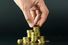 Concept d'argent d'économie images stock