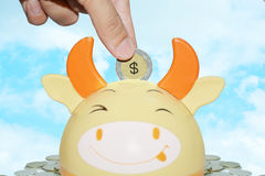 Concept d'argent d'économie photo stock
