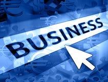 Concept d'argent d'affaires Images stock