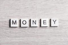 Concept d'argent d'affaires Images libres de droits