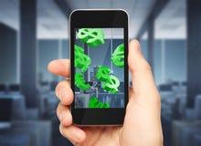 Concept d'argent de Digital Images libres de droits