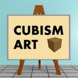 Concept d'art de cubisme illustration de vecteur