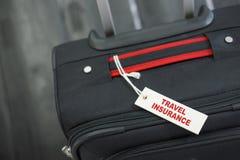 Concept d'assurance de voyage photographie stock libre de droits