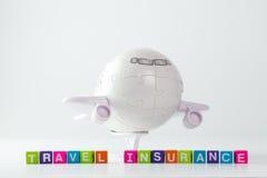 Concept d'assurance de voyage Photo libre de droits