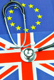 Concept d'assurance-maladie Images libres de droits