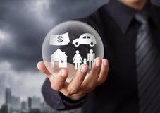 Concept d'assurance-vie Photo libre de droits