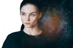 Concept d'astrologie images stock