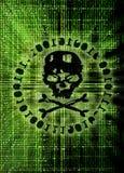 Concept d'attaque de pirate informatique illustration stock