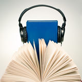 Concept d'Audiobook Images libres de droits