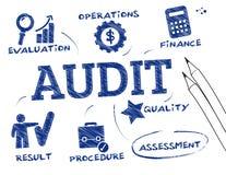 Concept d'audit illustration libre de droits
