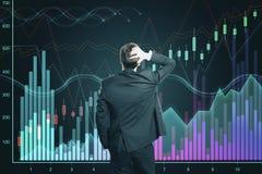 Concept d'augmentation et de finances photos stock