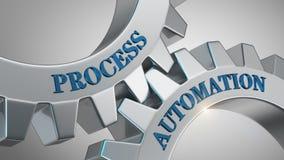 Concept d'automatisation des processus illustration de vecteur