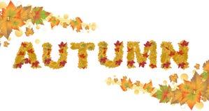 Concept d'automne photo stock