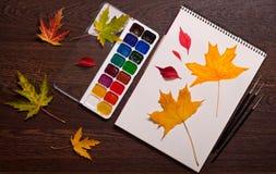 Concept d'automne d'art photo libre de droits