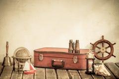 Concept d'aventure et de voyage Image libre de droits