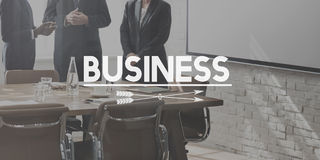 Concept d'Business Corporate Development Corporation photo libre de droits