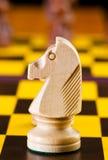 Concept d'échecs avec des parties Photo libre de droits