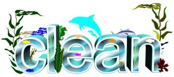 Concept d'eau propre Photo libre de droits