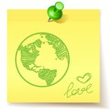 Concept d'Eco Photographie stock libre de droits