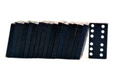 Concept d'effet de domino Images libres de droits